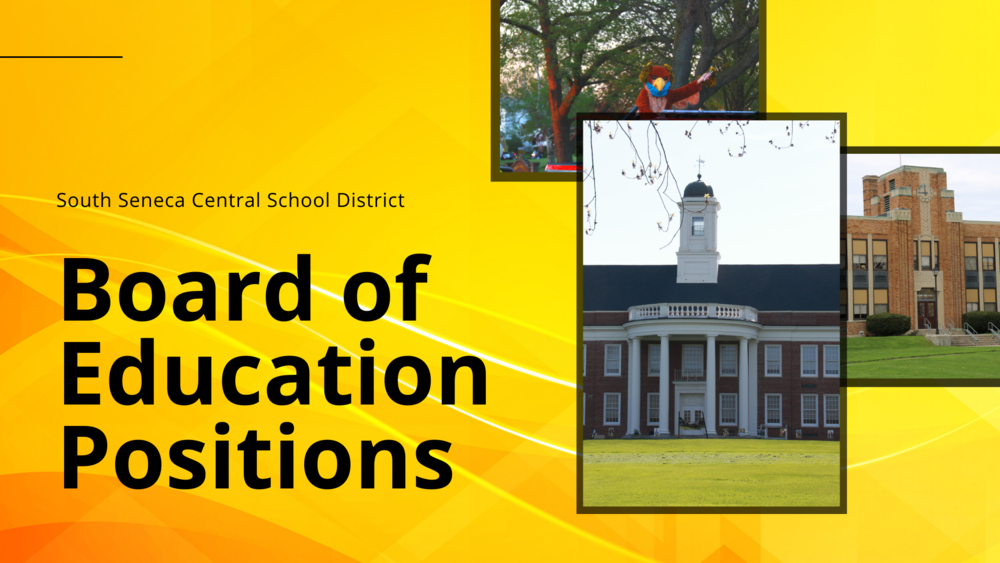 PETITIONS FOR SOUTH SENECA SCHOOL DISTRICT BOARD OF EDUCATION