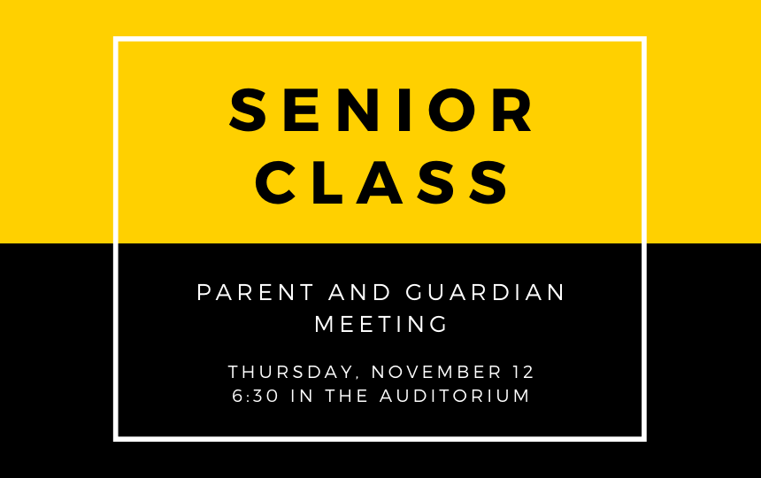 first senior meeting graphic