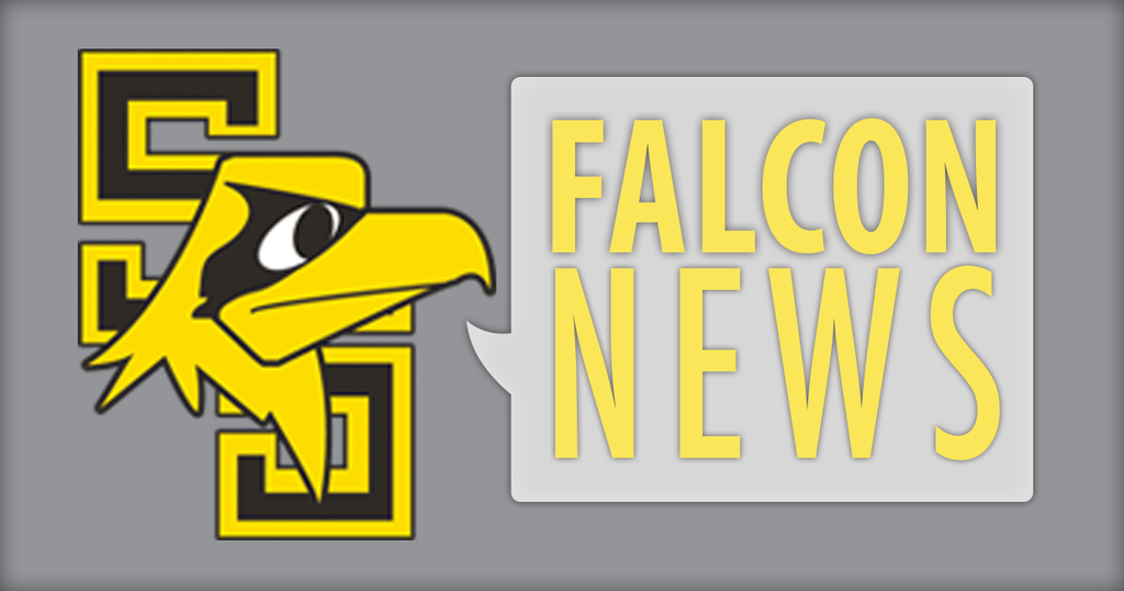 Falcon News graphic