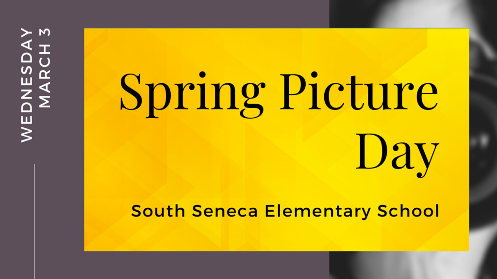 spring picture day graphic
