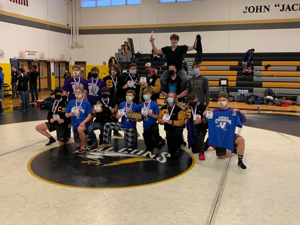 wrestling team wins sectionals