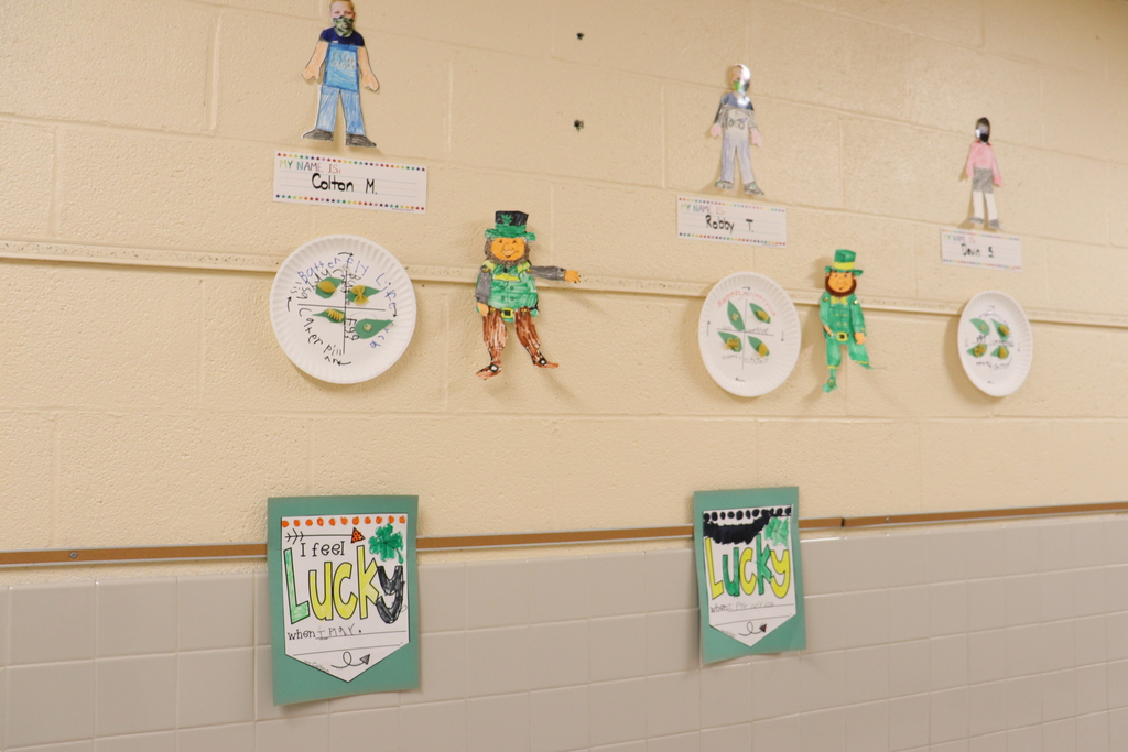 "St. Patrick's Day ""lucky"" art activities"