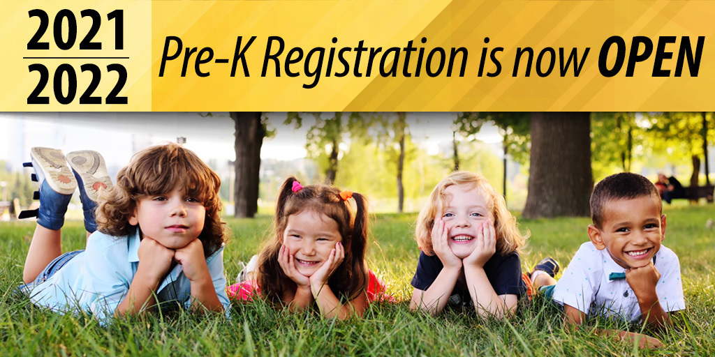pre-k registration graphic